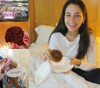 BabyCakes Gluten Free Treats - Cupcakes, Cake Ball, Gingerbread Man and Cookie Crunch Doughnut, December 2013