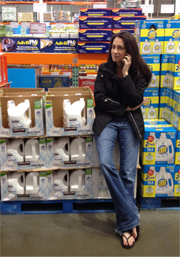 On The Phone With Costco While At Costco, January 13, 2014