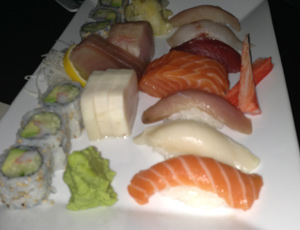Tamari Sushi and Sashimi Platter