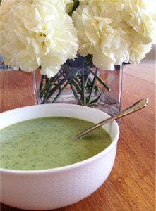 Summer Zucchini And Watercress Soup