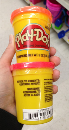 Play-Doh Is Not Gluten Free